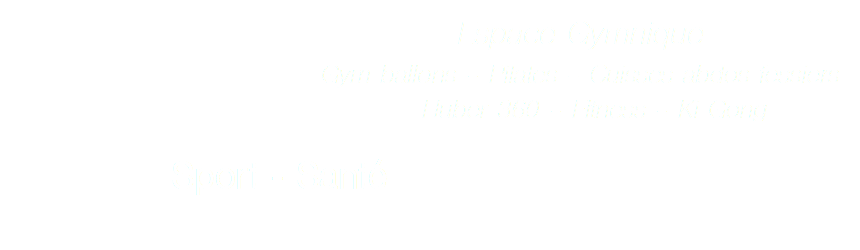 espace gymnique